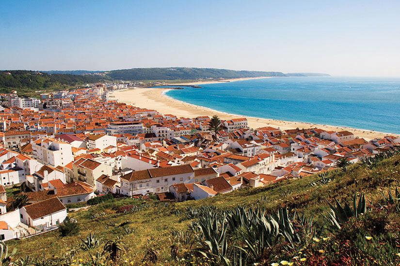 image Portugal Nazare bord de mer  fo