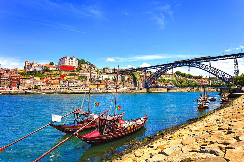 image Portugal Porto bateaux  it