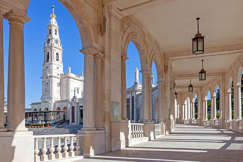 image Portugal Sanctuaire Fatima Basilique Notre Dame Rosaire