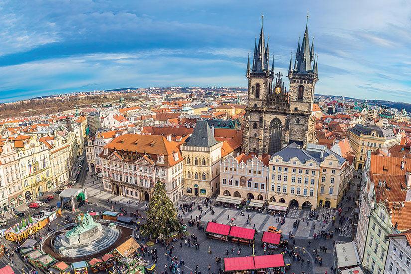 image Republique Tcheque Prague panoramique  fo
