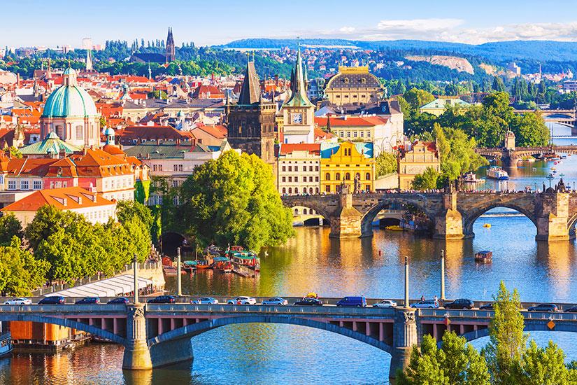 image Republique Tcheque Prague ponts  it