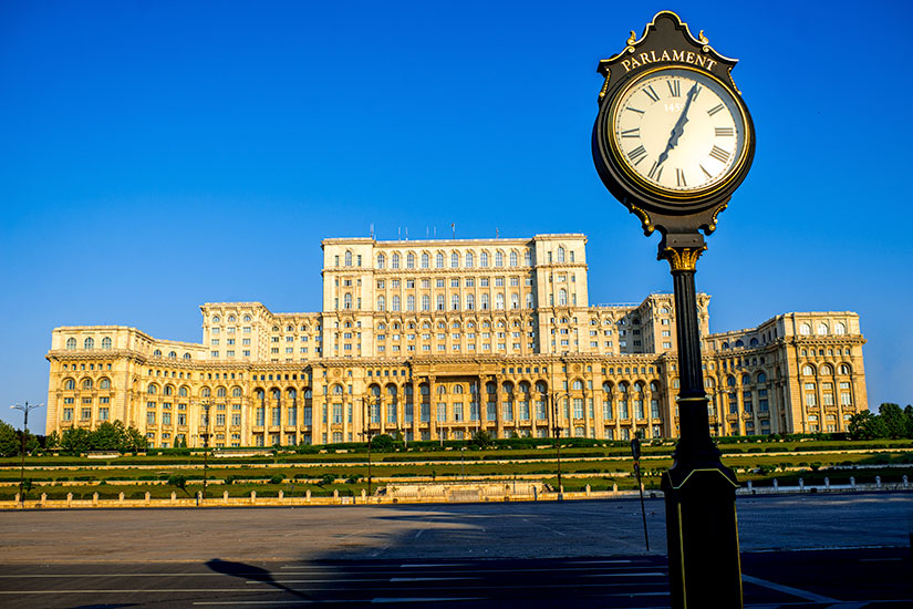 image Roumanie Bucarest Chambres Parlement  fo