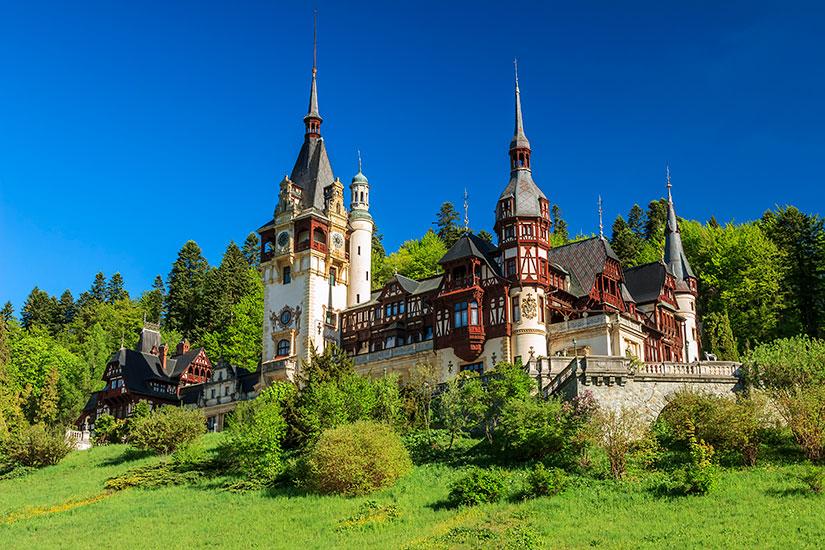 image Roumanie Sinaia Peles Chateau  it