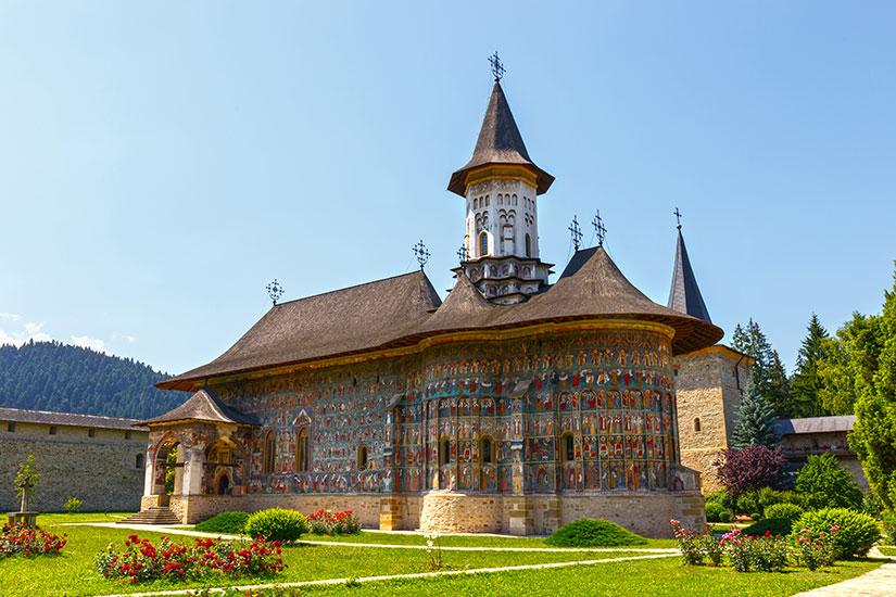 image Roumanie Sucevita monastere  fo