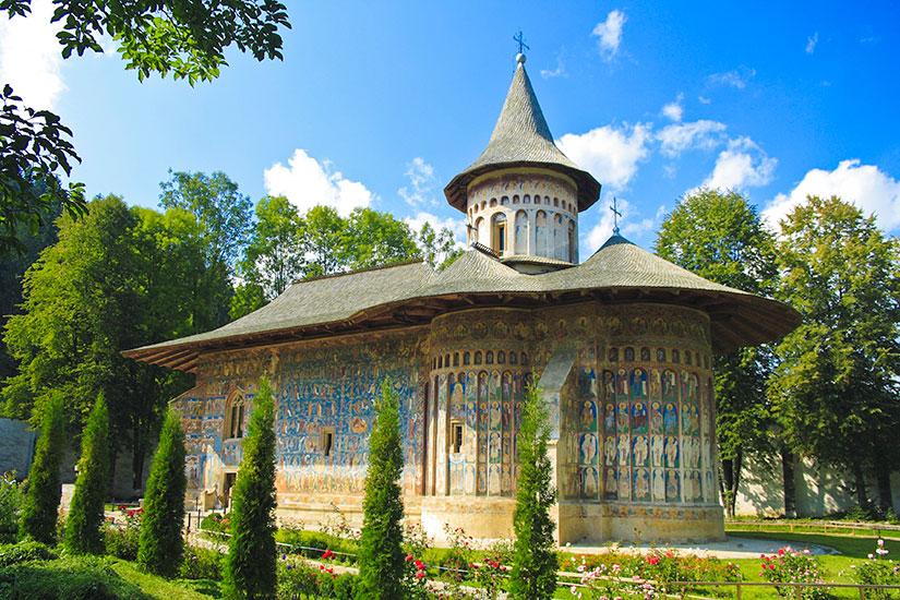 image Roumanie Voronet monastere  fo
