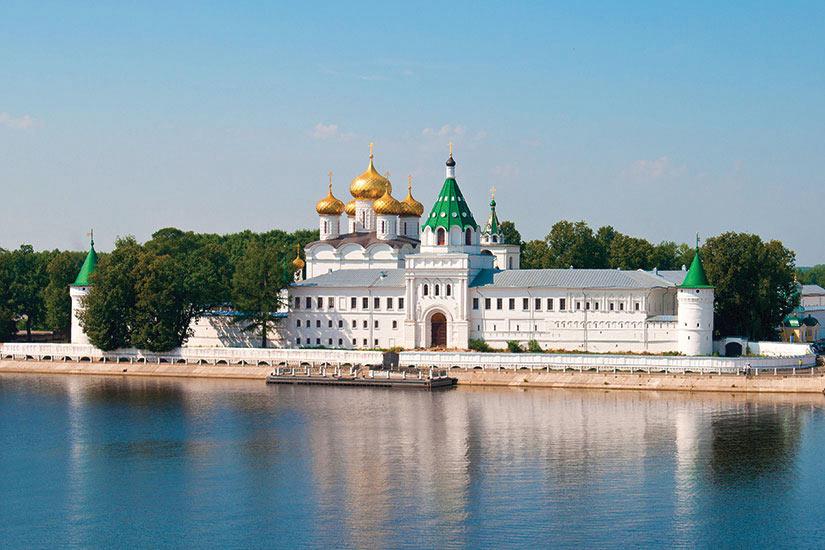 image Russie Kostroma Monastere Ipatevsky  it