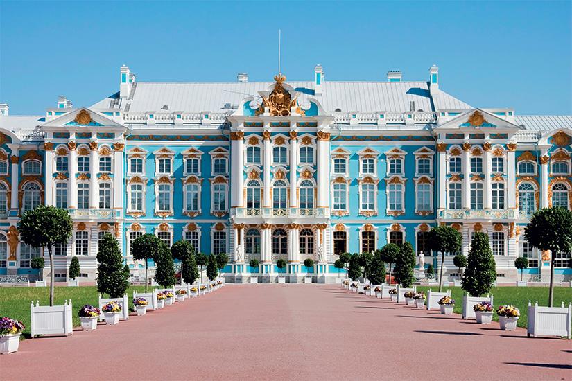 image Russie Pouchkine Entree du Palais Catherine 86 it_131718438