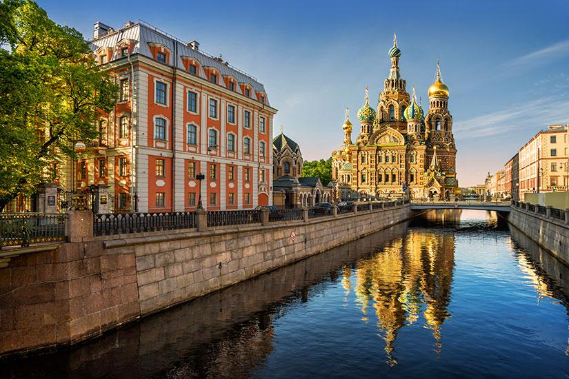 image Russie Saint Petersbourg Cathedrale Notre Sauveur  it