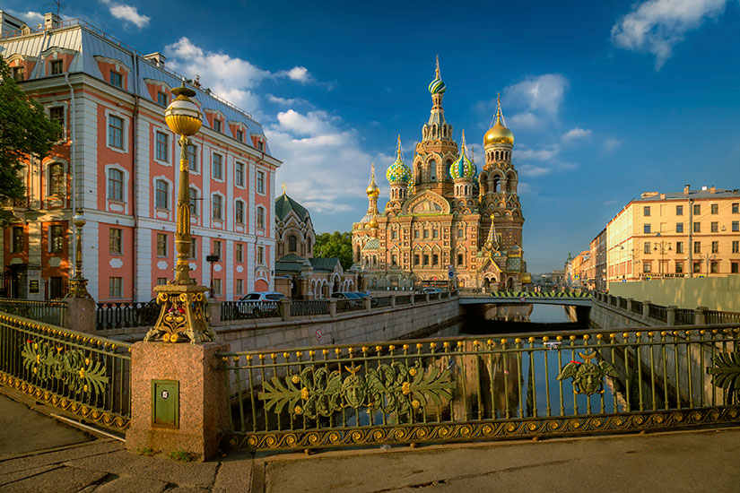 image Russie Saint Petersbourg Cathedrale Notre Sauveur  it