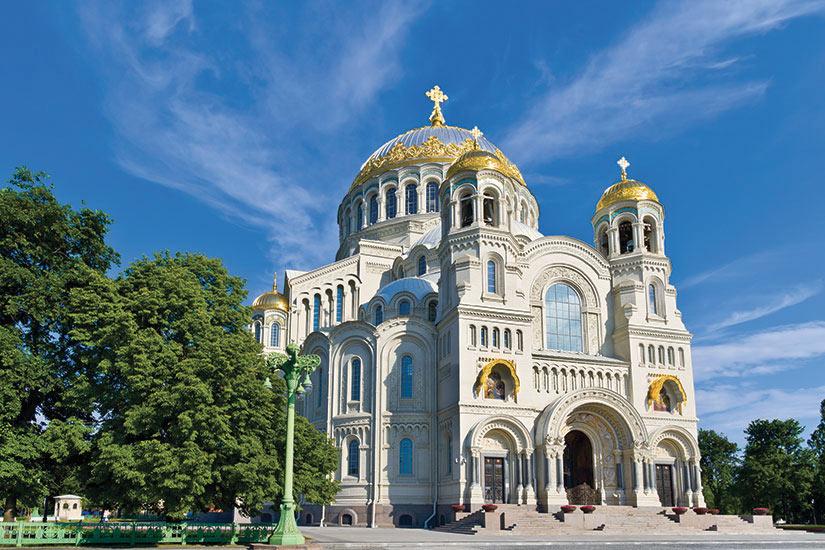 image Russie Saint Petersbourg Cathedrale Saint Nicolas  fo