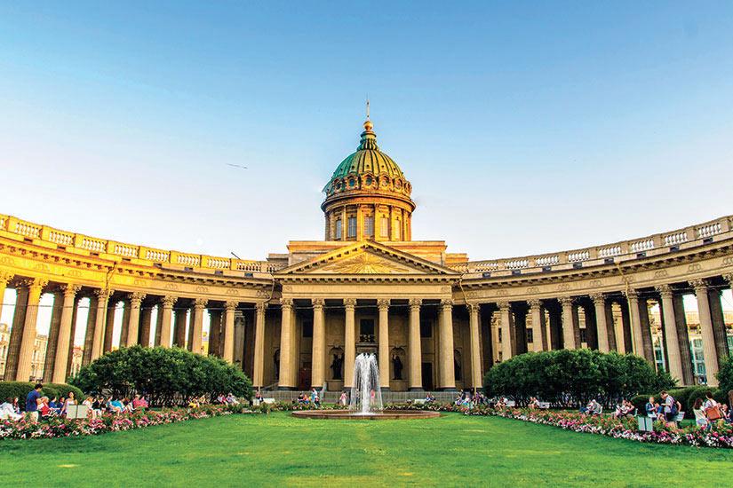 image Russie Saint Petersbourg Cathedrale de Kazan  it