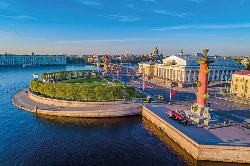 image Russie Saint Petersbourg Ile Vassilievski 20 as_219656753