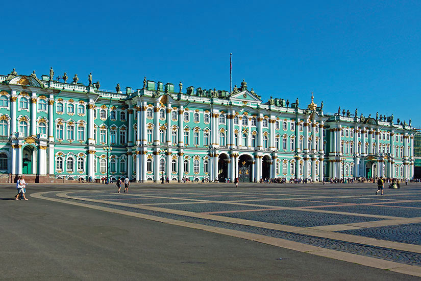 image Russie Saint Petersbourg Palais Hiver  fo