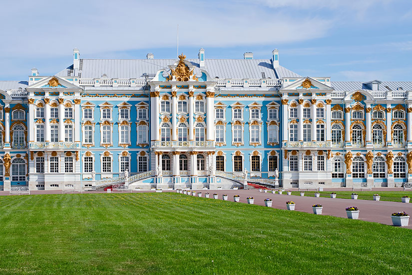 image Russie Saint Petersbourg Palais grande Catherine  it