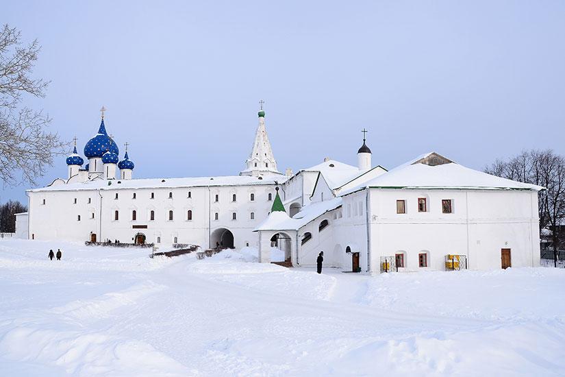 image Russie Souzdal Kremlin hiver  fo