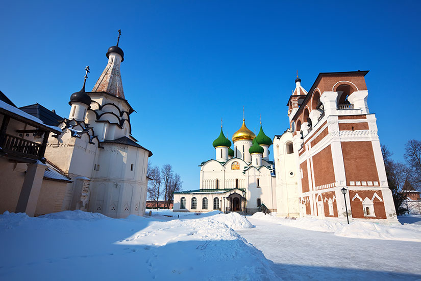 image Russie Souzdal Sauveur Euthymius monastere  fo