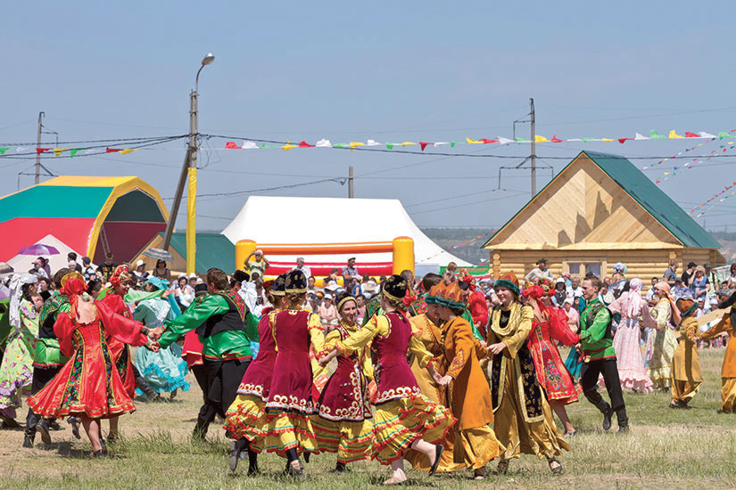 image Russie Volgograd Personnes costume national danse traditionnelle  it