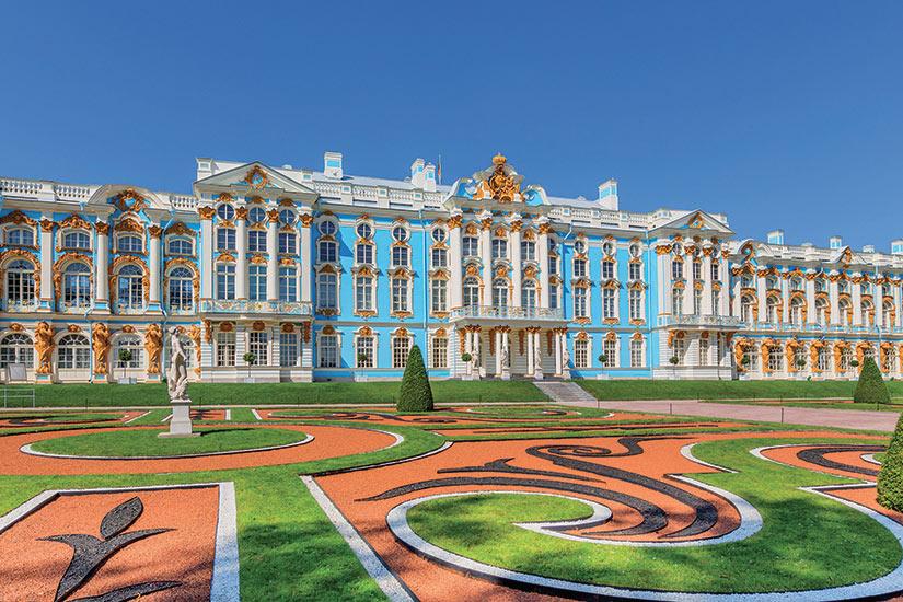 image Russie le Palais Catherine au Parc Catherine (Pouchkine)  fo