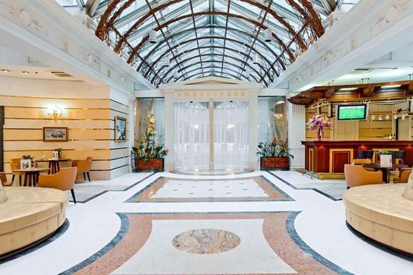 image Russie saint petersbourg hotel ambassador reception