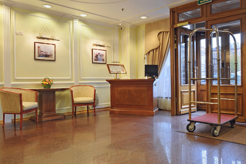 image Russie saint petersbourg hotel dostoevsky hall