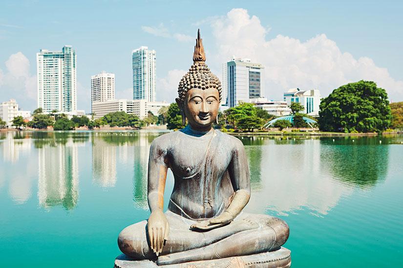 image Sri Lanka Colombo temple bouddhiste  fo