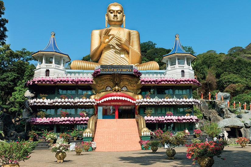 image Sri Lanka Temple dOr de Dambulla  fo