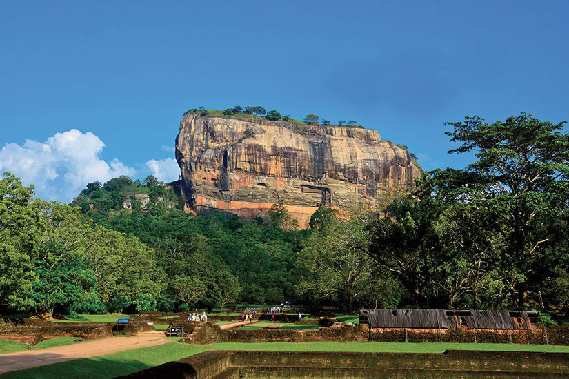image Sri lanka sigiriya fort rocher  it
