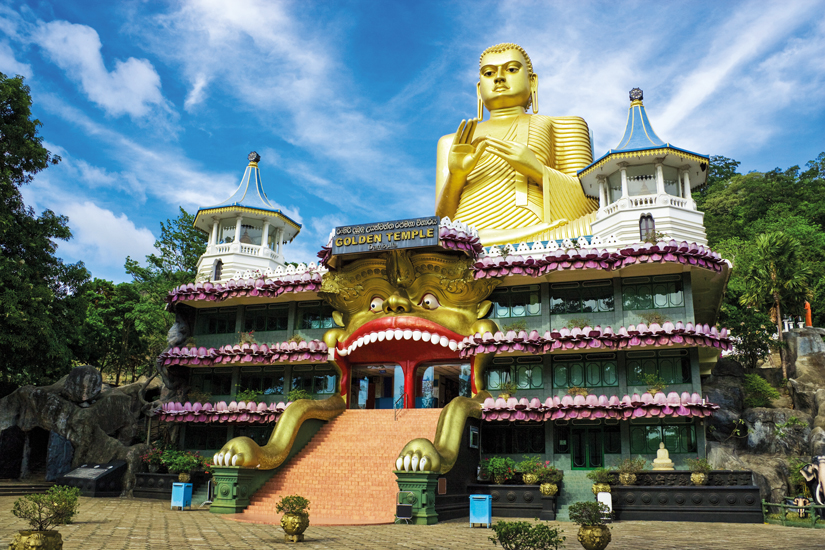 image Sri lanka temple or dambulla bouddha 16 fo_18407931