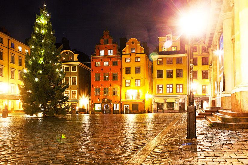 image Suede Stockholm Gamla Stan Noel  it