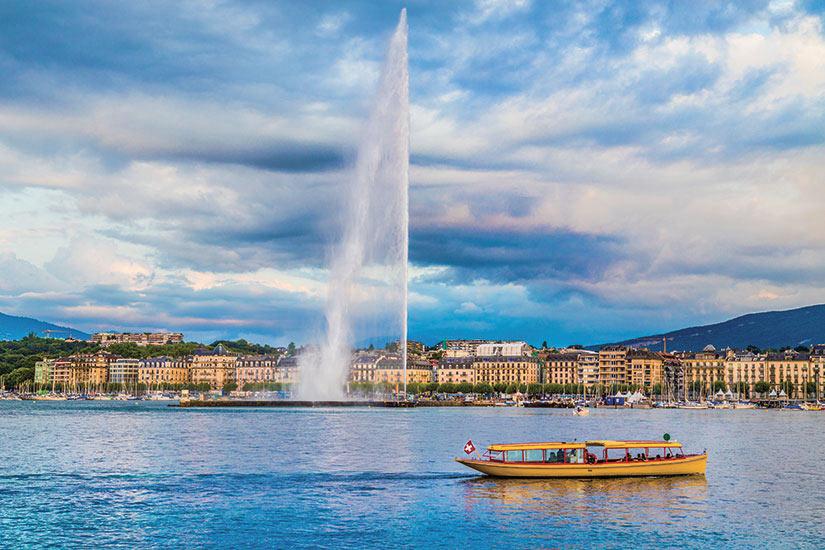 image Suisse Geneve Celebre Jet d eau  fo
