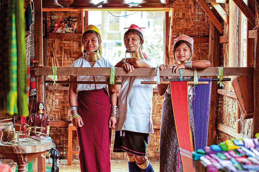 image Thailande Birmanie Myanmar Tribu Padaung femmes girafes 29 it_187127175