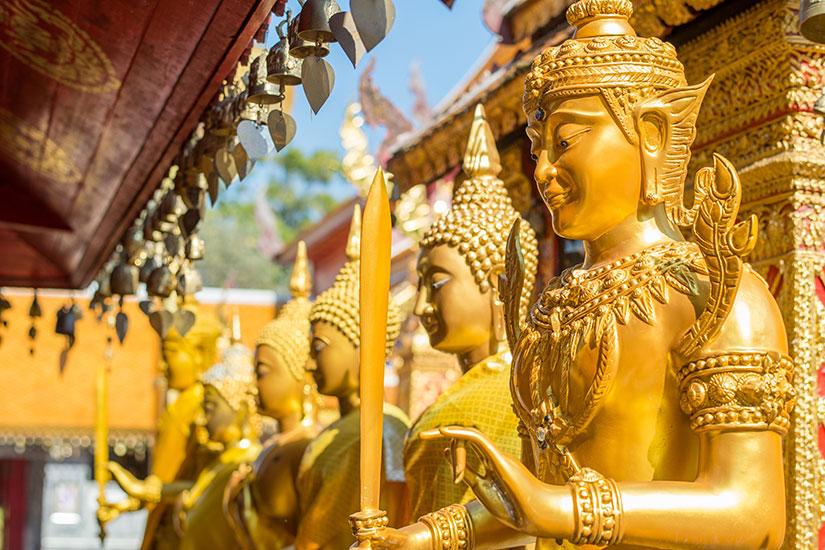 image Thailande Chiang Mai Wat Phra That Doi Suthep  fo