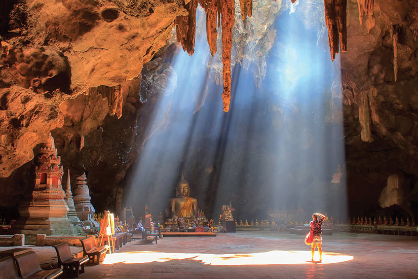 image Thailande Khao Luang Cave a Phetchaburi  fo