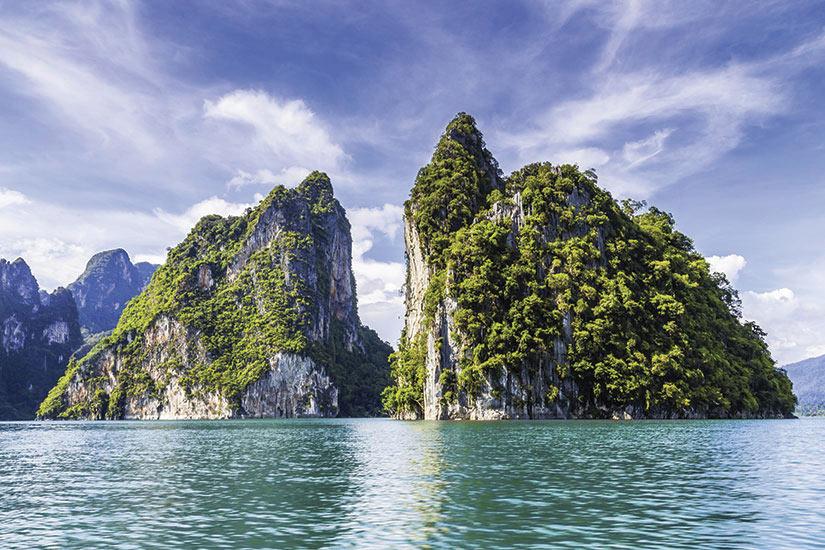 image Thailande Khao Sok double ile verte  it