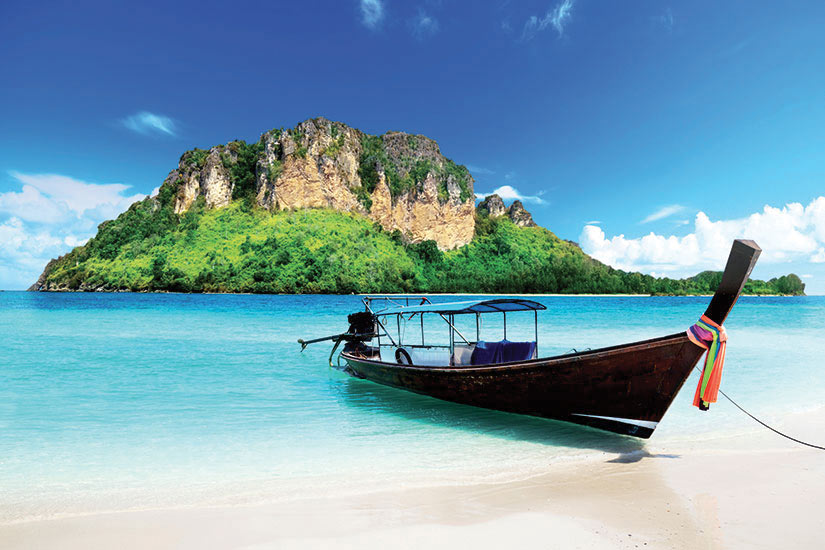 image Thailande Poda long bateau  it