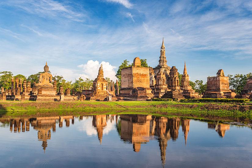 image Thailande Sukothai parc  fo