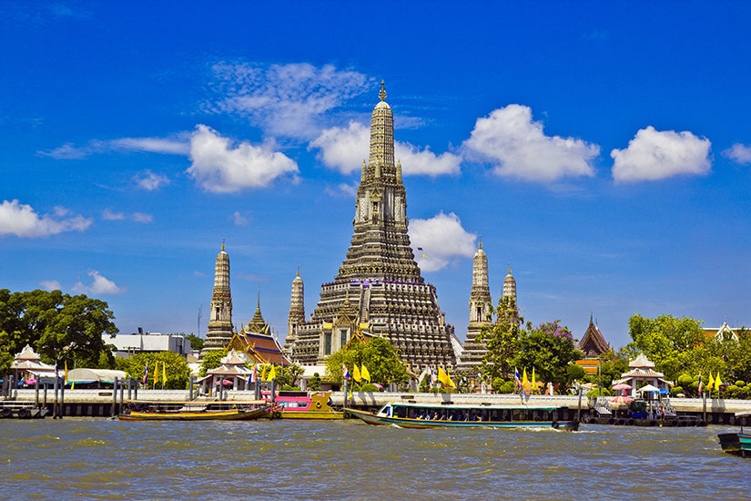 image Thailande Wat Arun Ratcha Wararam Ratchaworamahawihan  fo