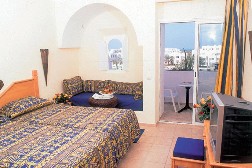 image Tunisie Djerba hotel vincci chambre