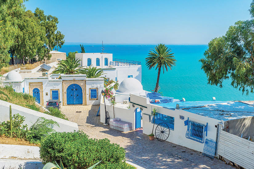 image Tunisie Sidi Bou Said  it