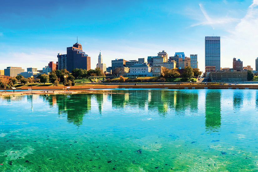 image USA Memphis skyline  fo