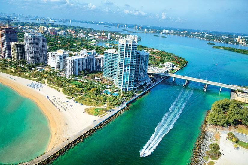 image USA Miami vue aerienne  it