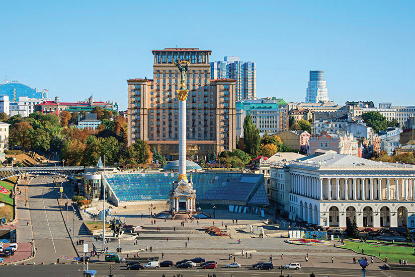 image Ukraine Kiev Place Independance  fo