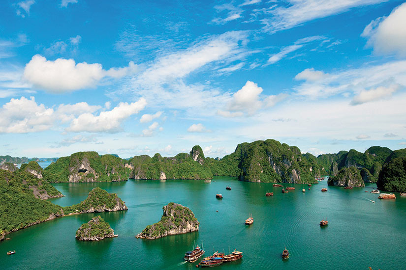 image Vietnam Baie dHalong paysage  it