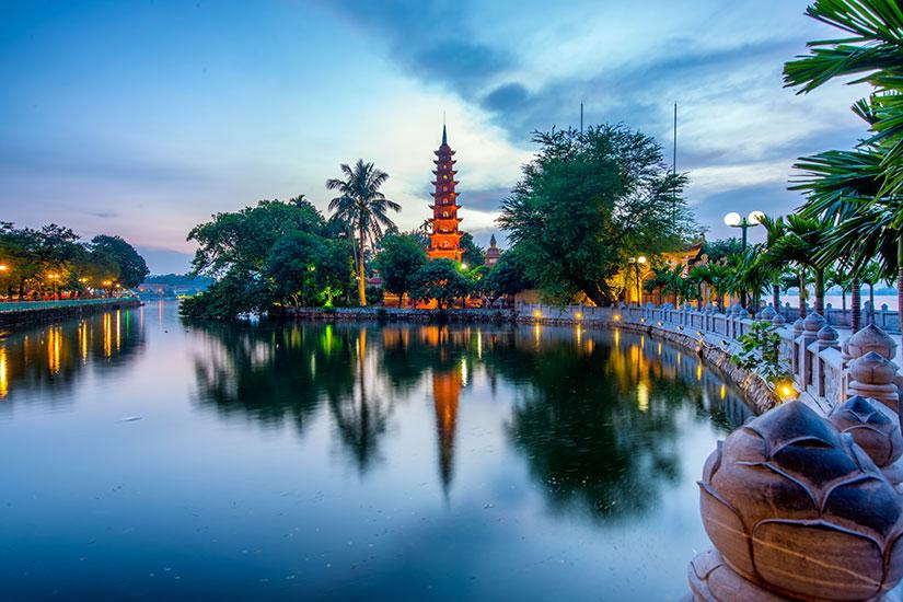 image Vietnam Hanoi Tran Quoc Pagoda  fo