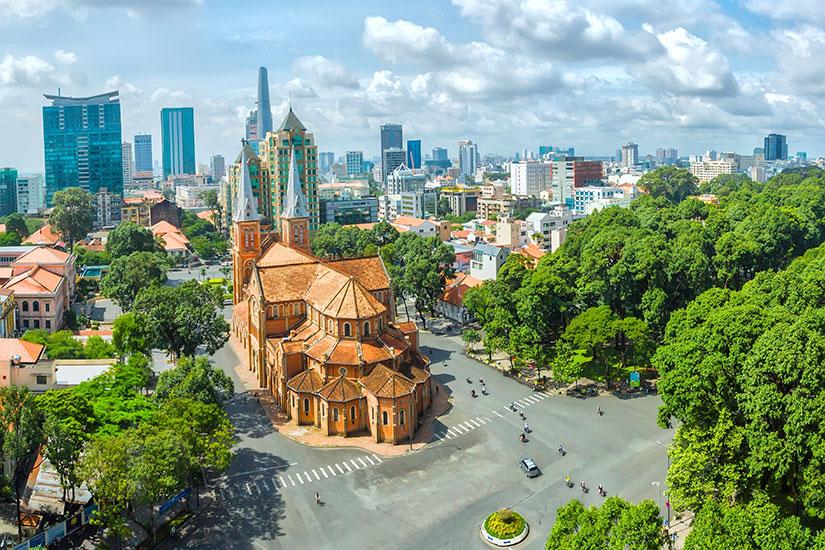 image Vietnam Ho Chi Minh Ville eglise  it
