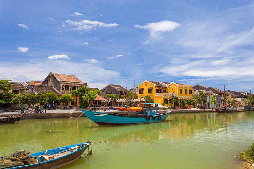 image Vietnam HoiAn Bateau peche  it