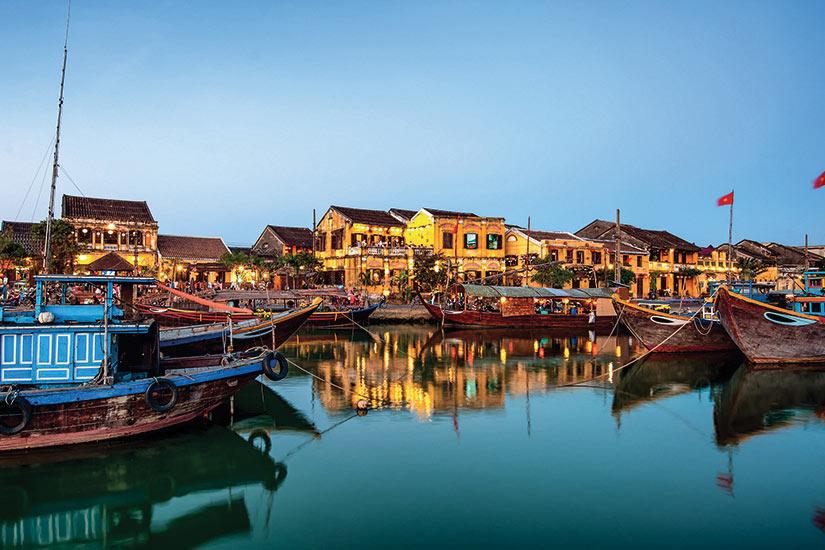 image Vietnam Hoi an vieille ville apres le coucher du soliel  fo