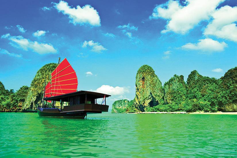 image Vietnam Jonque traditionnelle  fo