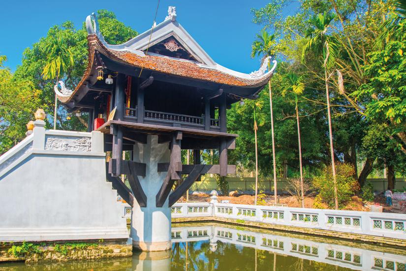 image Vietnam hanoi pagode pilier 16 as_84637251
