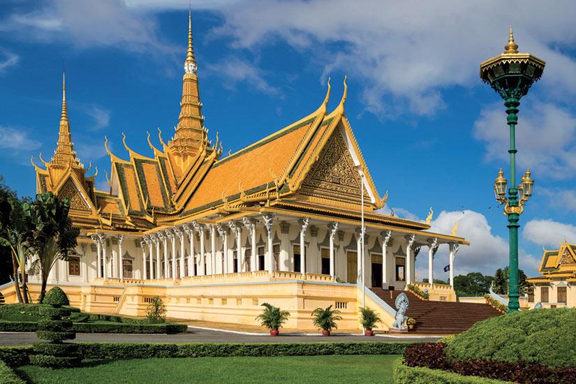 image Vietnam le Palais Royal de Phnom Penh  fo